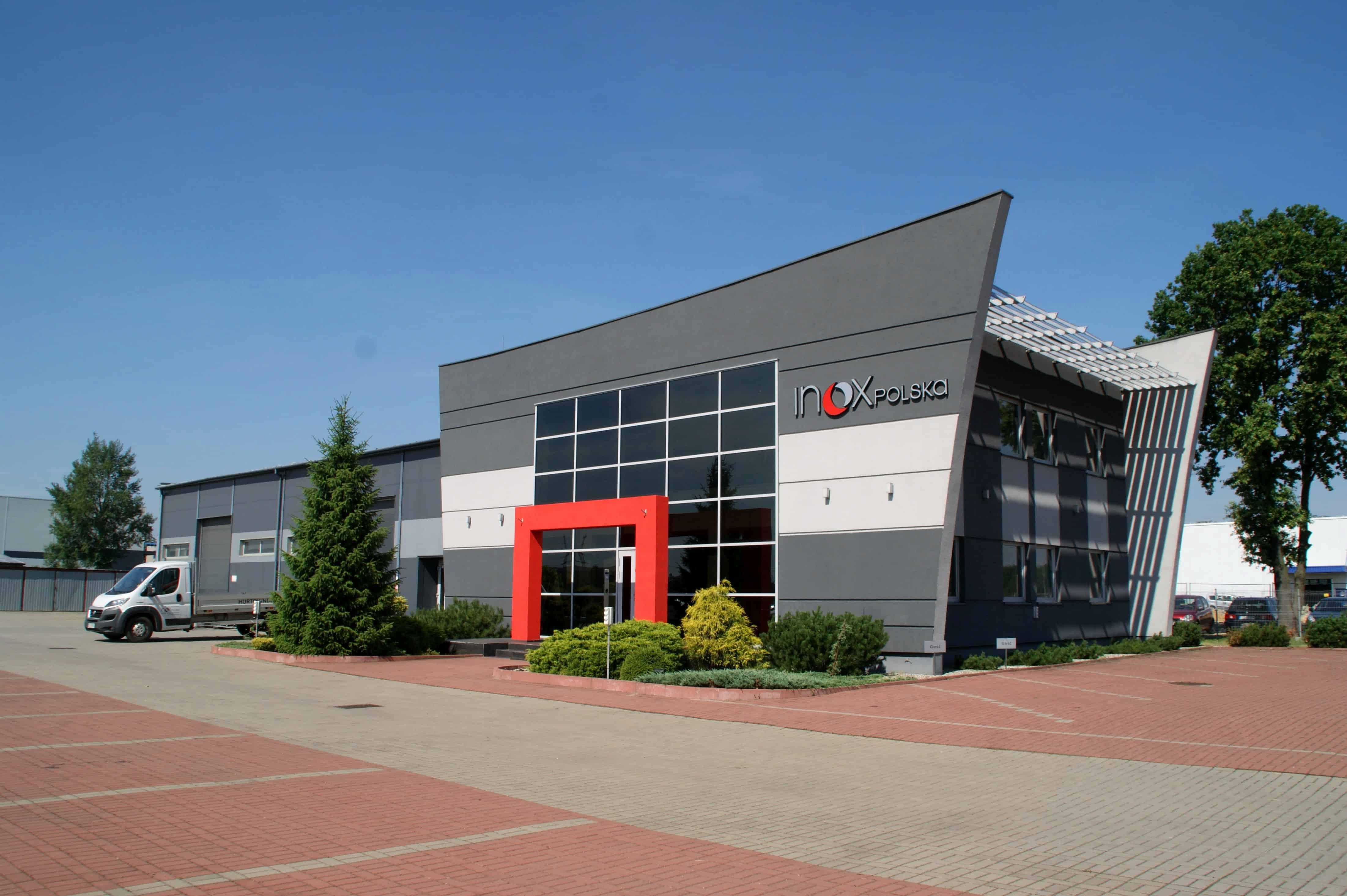 siedziba firmy inox